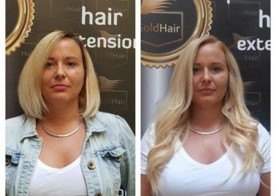 hajhosszabbítás_GoldHair_szőke_hullámos_póthaj