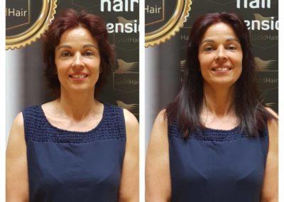 hajhosszabbítás_extra_rövid_hajra_GoldHair_Budapest